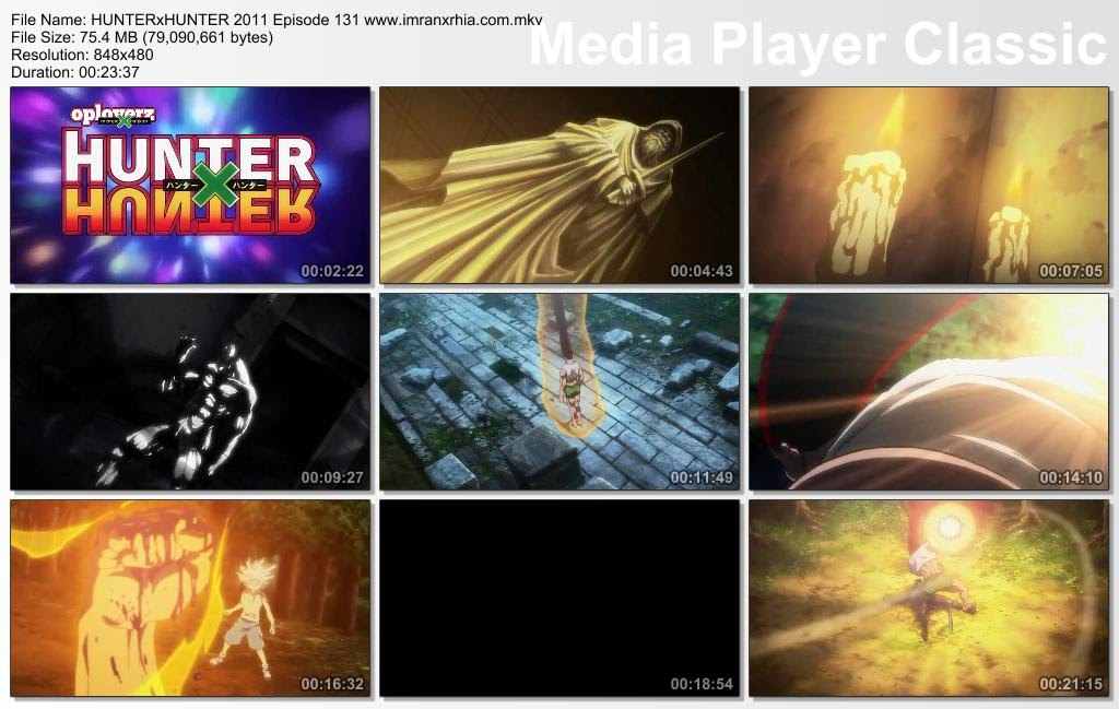 "Download Film / Anime Hunter x Hunter 2011 Episode 131 ""Kemarahan dan Cahaya"" Bahasa Indonesia"