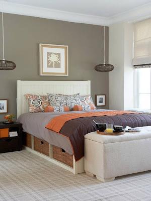 decoración de un dormitorio acogedor