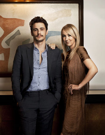 James Franco, Frida Giannini