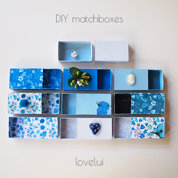 DIY Matchbox PDF lovelui