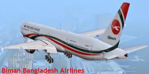 Buy Biman Bangladesh Airlines Cheap Tickets