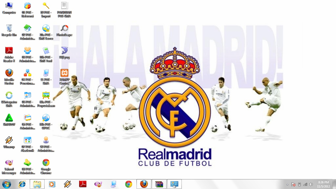 Download theme real madrid windows 7