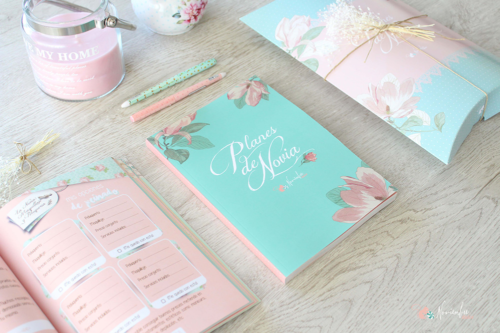 5 agendas de novia bonitas para organizar tu boda blog de