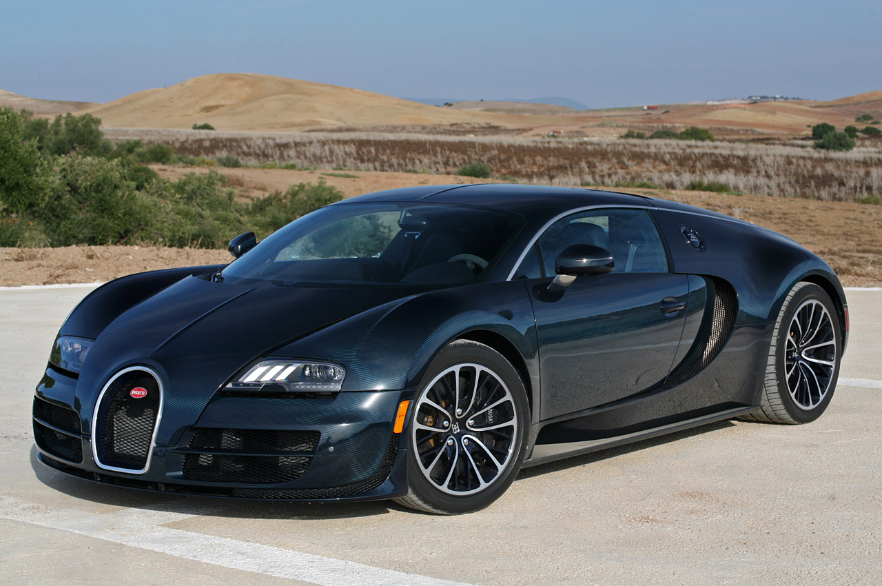 Sports Cars Bugatti Veyron Super Sport