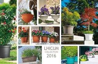 Barnaplant presenta la coleccion Lhicum de macetas y jardineras 2016