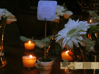 casamento, velas, decoração branca verde, vasos com plaquinhas