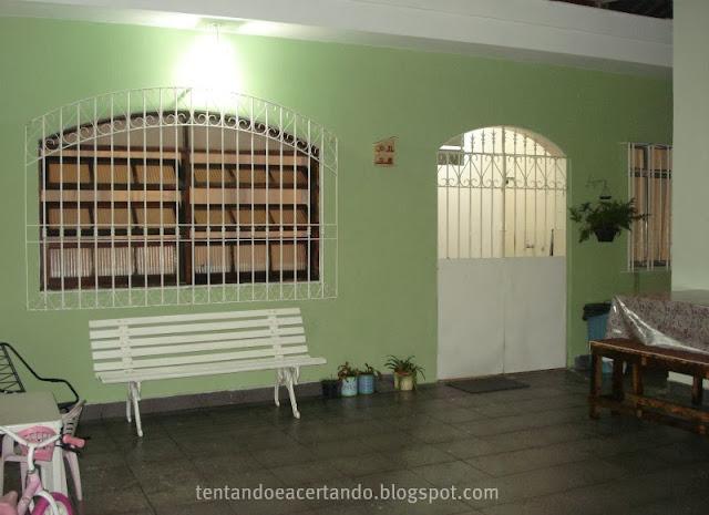 Sala De Estar Verde Kiwi ~ outra parede de frente que é do quarto, mas ficou assim verde Kiwi