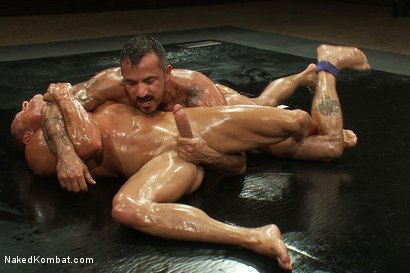 Naked Kombat is gay erotic wrestling and sex, intense authentic male ...