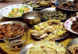 Makanan Keluarga Kaya Setiap Hari