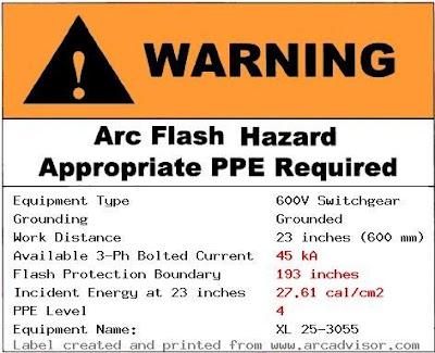 Saima soomro arc flash warning label for Danger arc flash labels