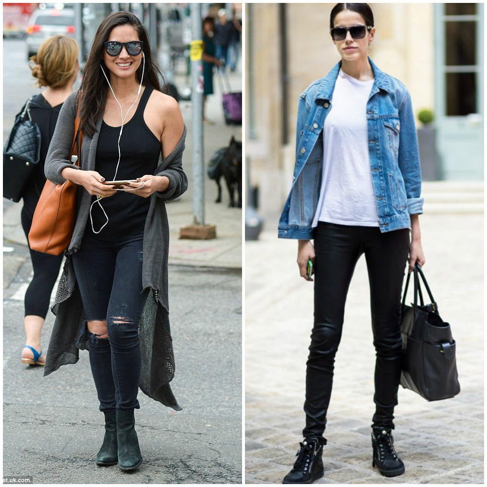 black skinny jeans - top uk fashion blog trends 2014 street style outfits