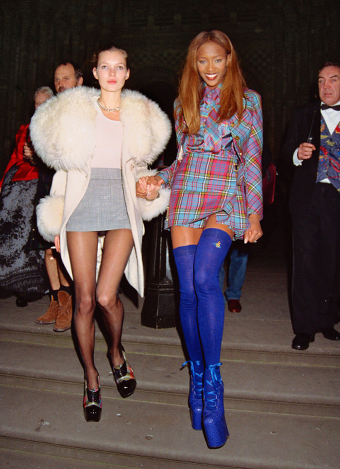 Vivienne Westwood jacket on Naomi Campbell