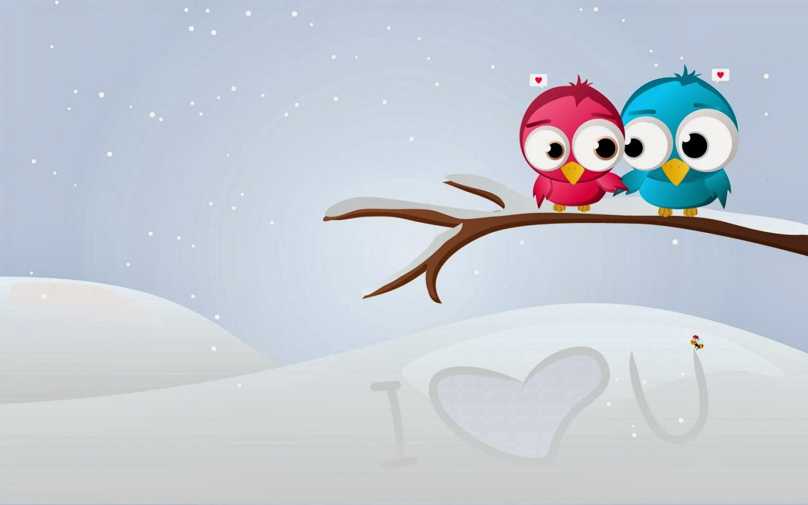 Love Birds couple Wallpaper : cute Little Love couple Pictures HD Free Download