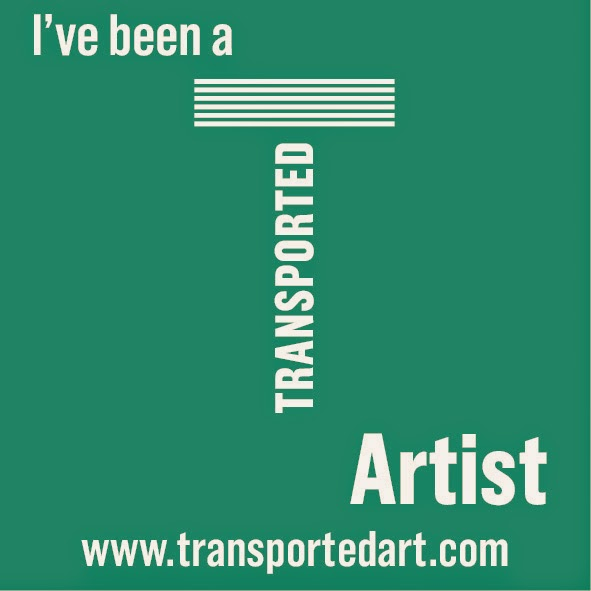 Transported Artist Logo