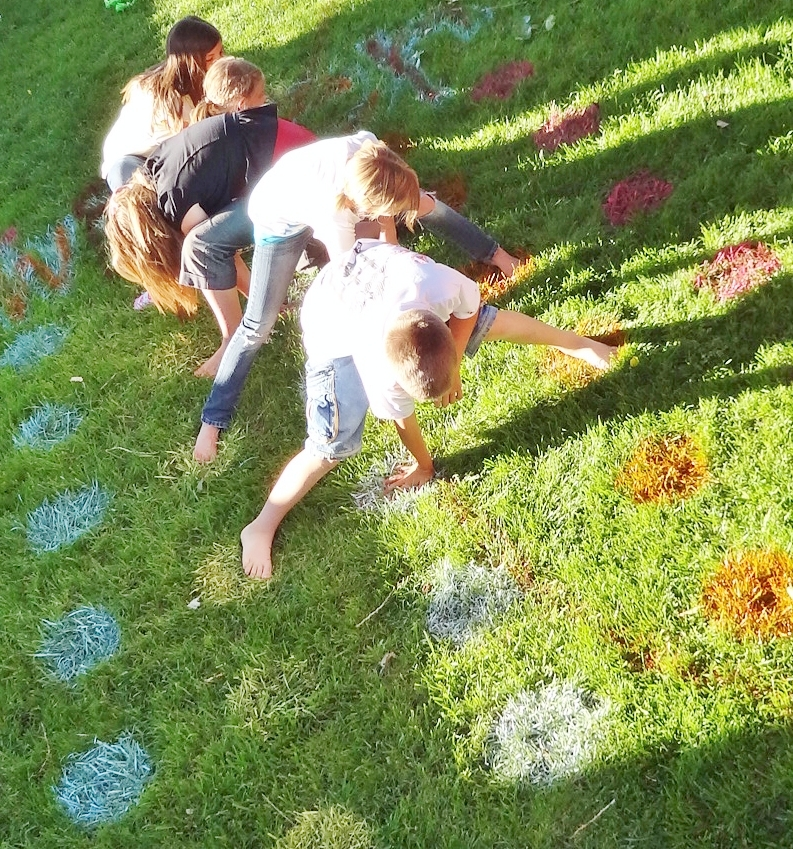 Backyard Family Picture Ideas : talked about my opinions on spray painting