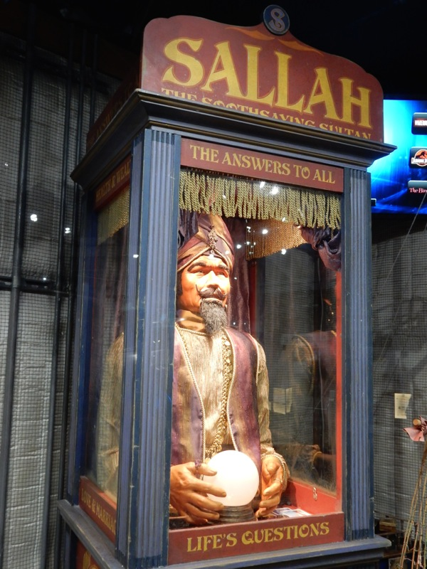 Warehouse 13 Sallah Fortune Teller Booth