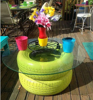 Tire Coffee Table