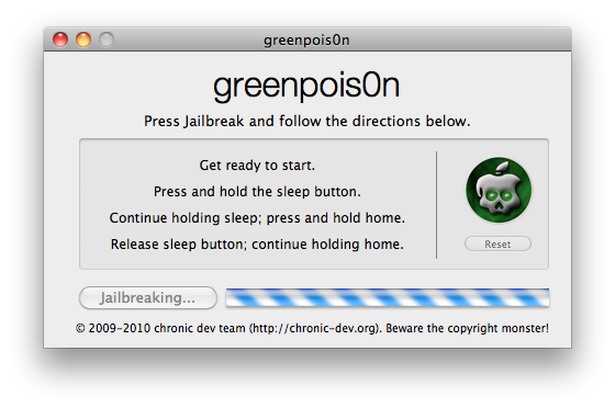 GreenPois0n RC 6.1