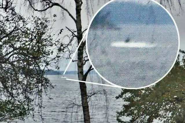 Second sighting of Sweden's suspicious submarine