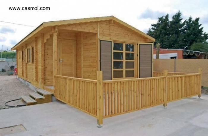 Arquitectura de casas viviendas prefabricadas precio por for Casas prefabricadas de madera precios
