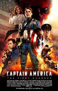 Cartel americano de Capitán América