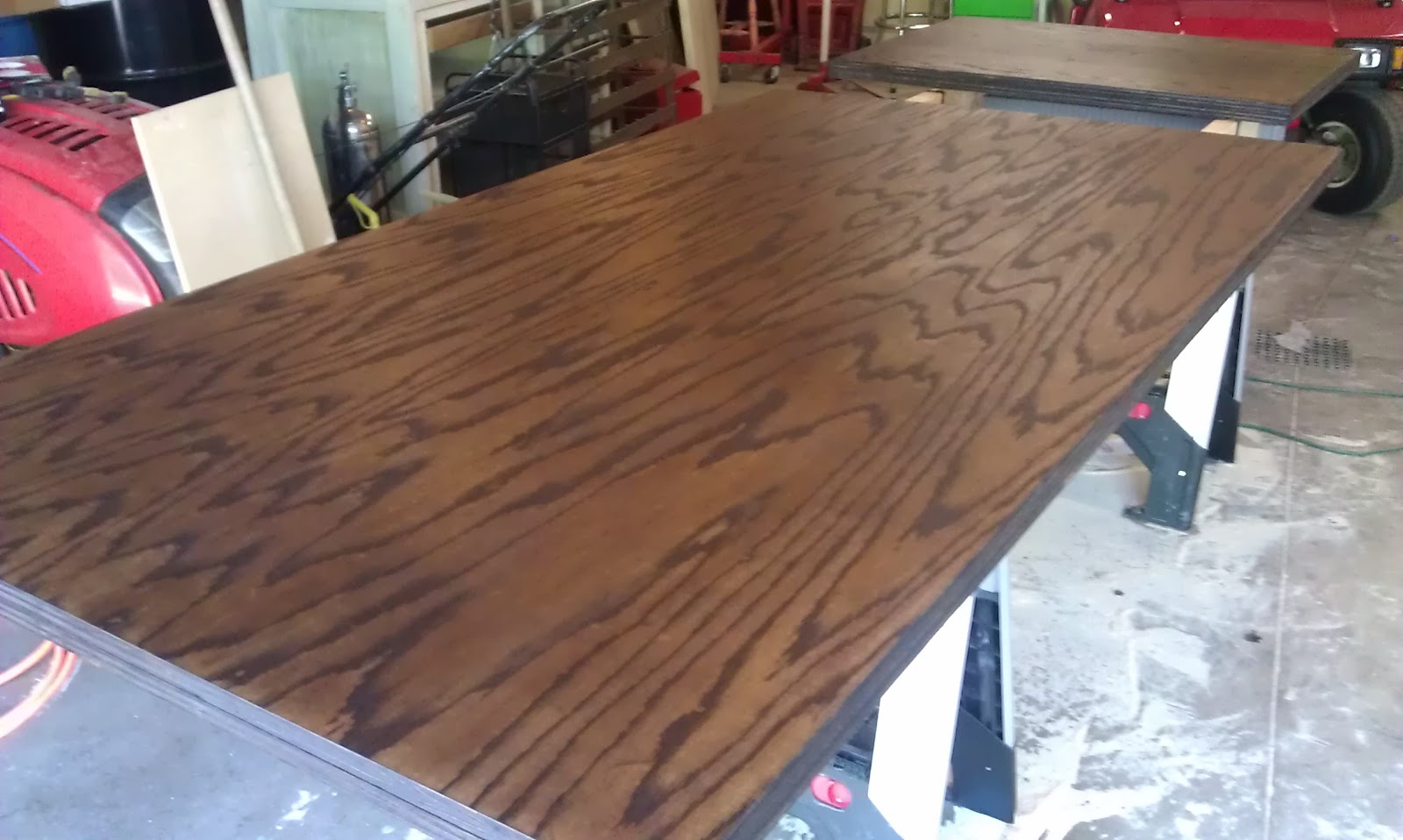 our diy lakeside retreat budget friendly wood countertops. Black Bedroom Furniture Sets. Home Design Ideas