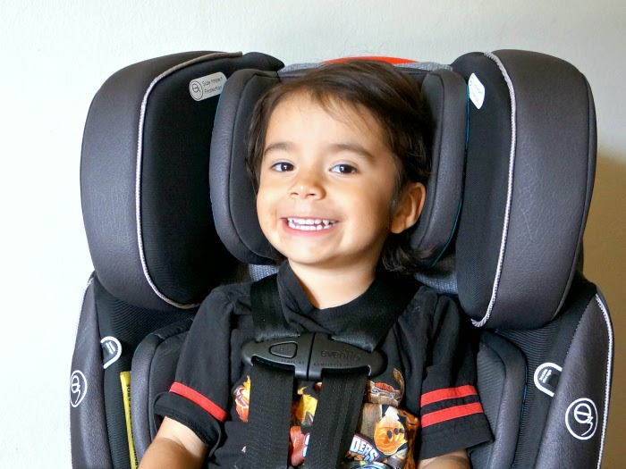 Convertible Car Seat for Toddler // LivingMiVidaLoca.com #EvenfloPlatinum #ad