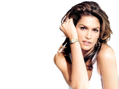Cindy Crawford Lovely Wallpaper