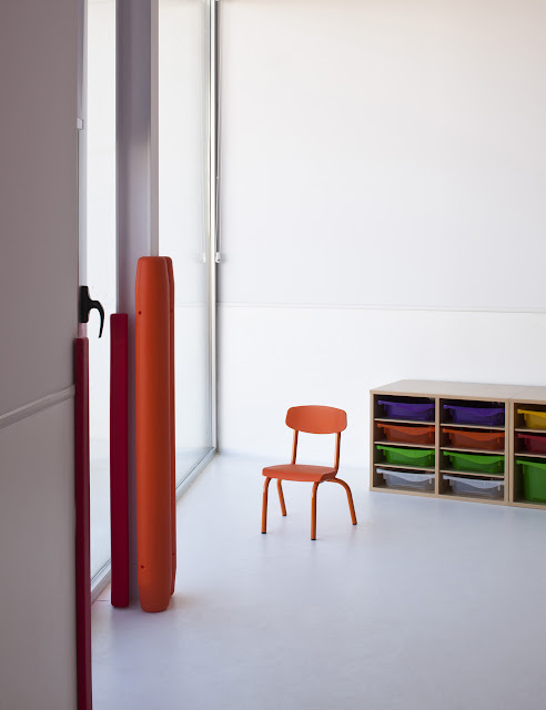 Elisa valero escuela infantil en el serrallo granada for Arquitectura tecnica ua
