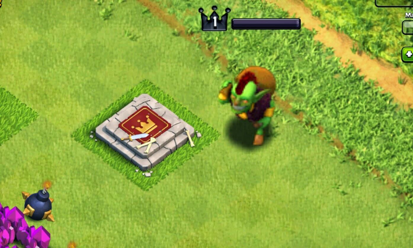 Mod goblin king coc