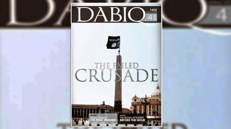 NOTICIAS INSÓLITAS - El grupo terrorista ISIS, promete izar su bandera en el mismo Vaticano