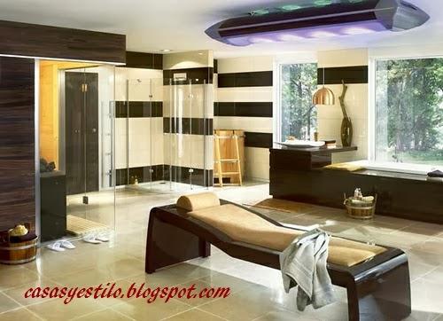 los baños de lujo