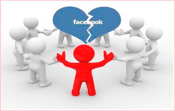 Bloquear amigos facebook