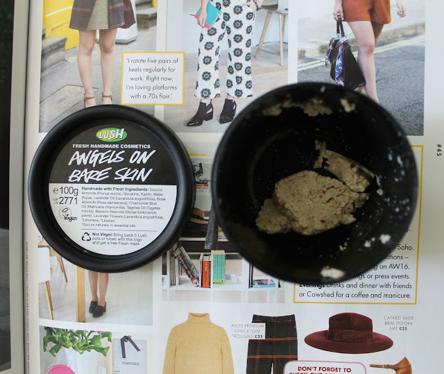 Angels On Bare Skin By Lush Cleanser Review Beauty Skincare