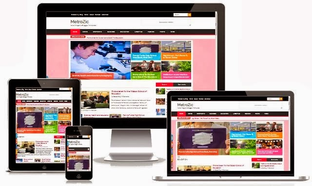 Template Blogspot cho site tin tức: Smart News