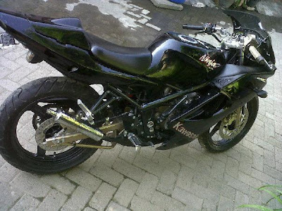 Modifications Kawasaki Ninja 150 RR 2012   automotive modification