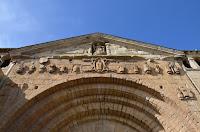 Santillana del Mar - Portalada de la Col·legiata de Santa Juliana