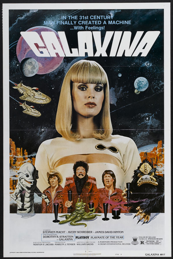 space1970: GALAXINA (1980) Theatrical Posters
