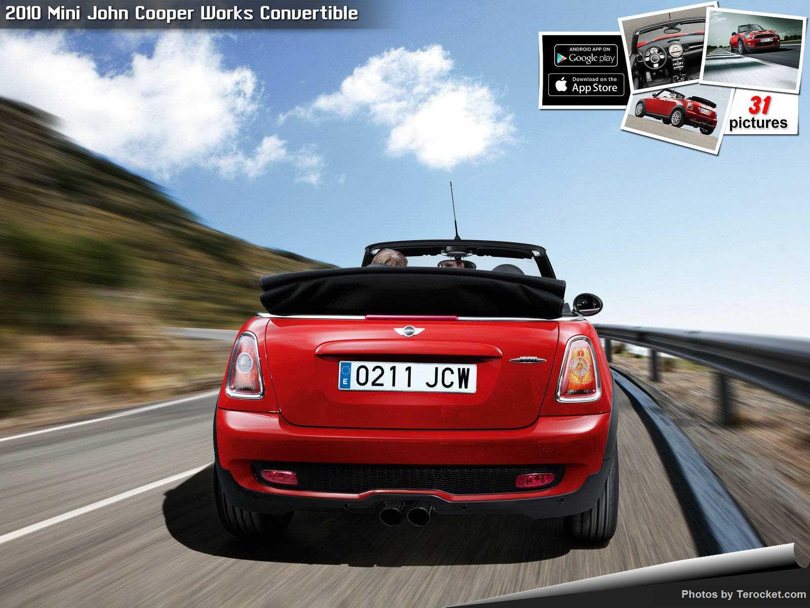 Hình ảnh xe ô tô Mini John Cooper Works Convertible 2010 & nội ngoại thất