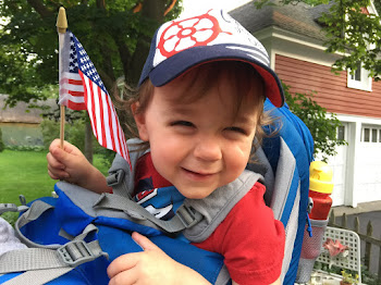 Young Watertown Patriot Carmine Puccia Says Happy Birthday USA!