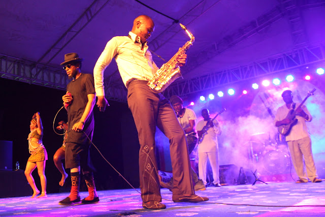 Seun Kuti and Yaciin Bey: it took the two to tango
