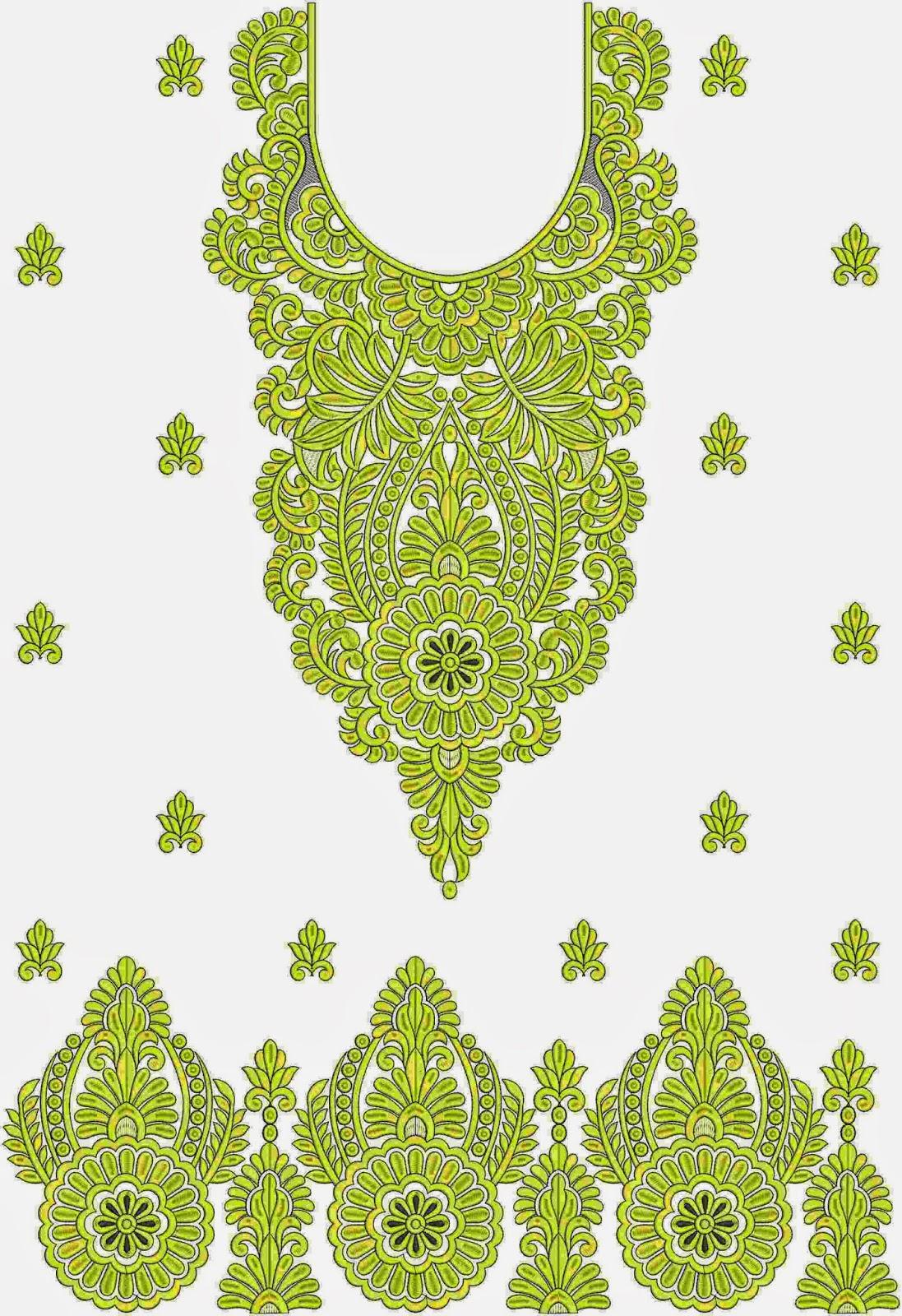 Suid-Asiatiese ontwerp Kurti rok