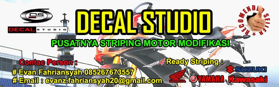 Jual Striping Motor Modifikasi