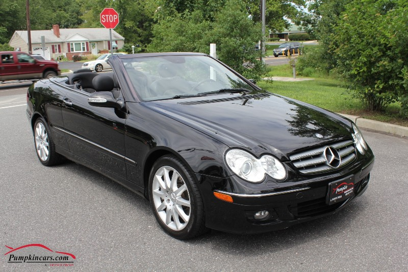 Pumpkin fine cars and exotics 2007 mercedes benz clk350 for 2007 mercedes benz clk