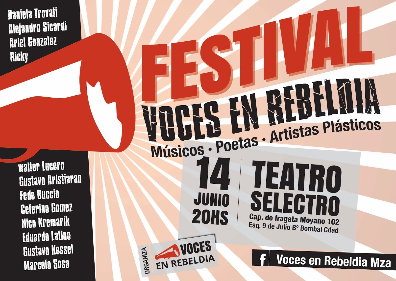 Festival Voces en rebeldía