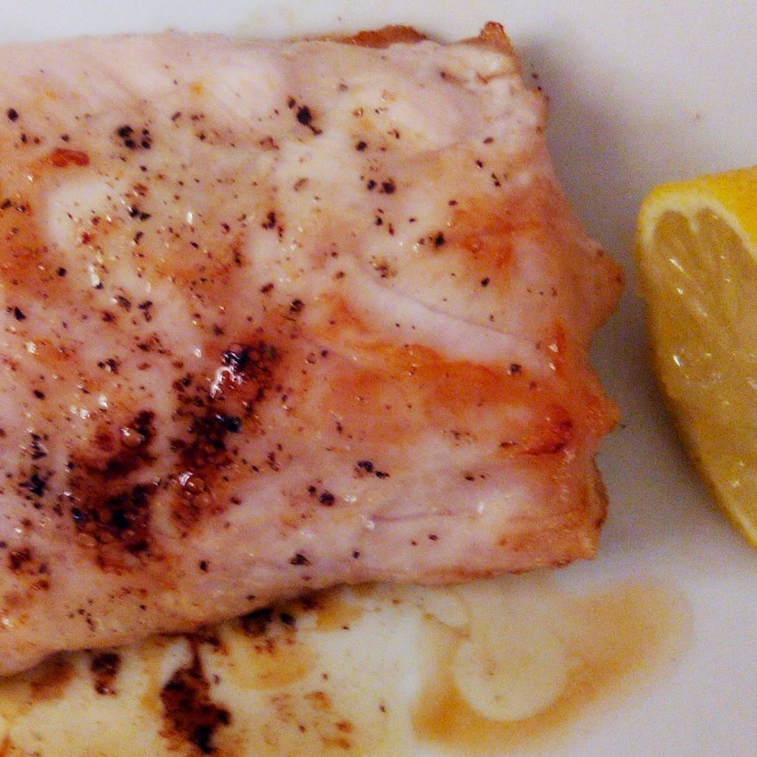 Crocodile Fillet with Lemon-Ghee Sauce