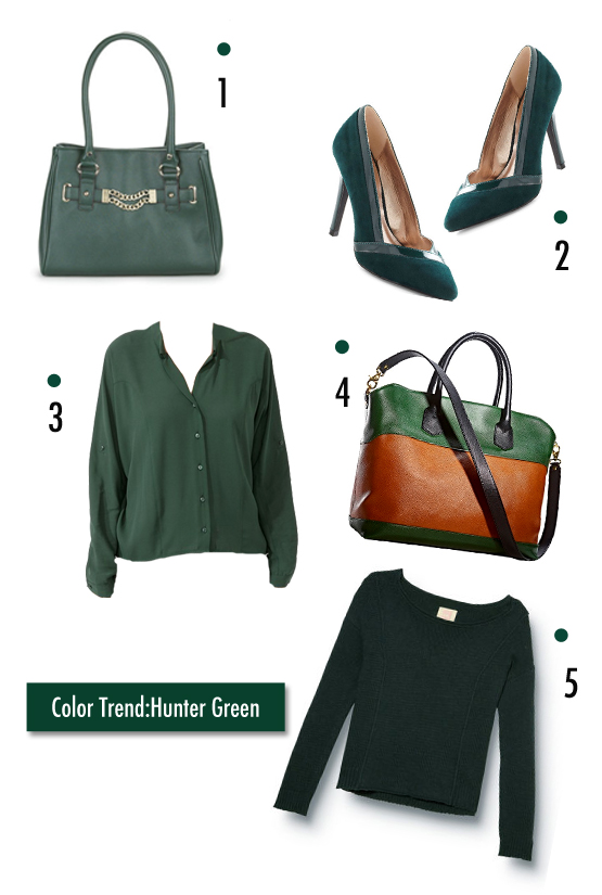 Fall Color Trend Hunter Green Viva Fashion