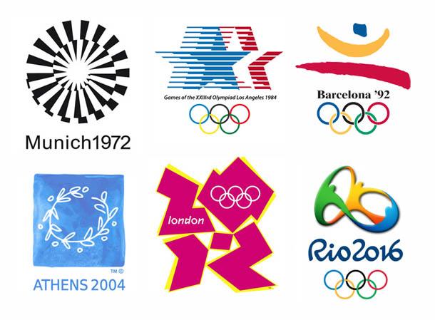 logótipos - Jogos Olimpicos - infográfico