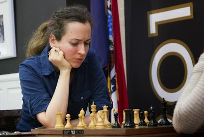Irina Krush (2489) va-t-elle remporter son 6e championnat d'échecs américain ?