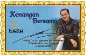 """""""Kenangan Terindah NEXO Bersama Tun Dr. Mahathir Mohamad"""""""